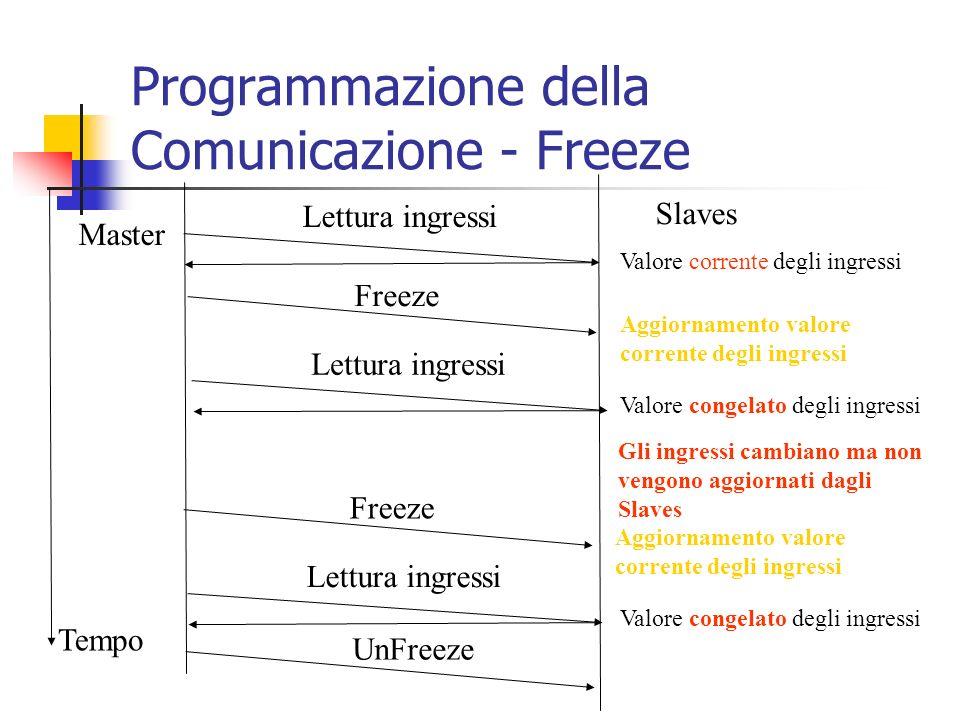 Programmazione della Comunicazione - Freeze