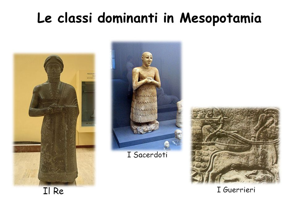 Le classi dominanti in Mesopotamia