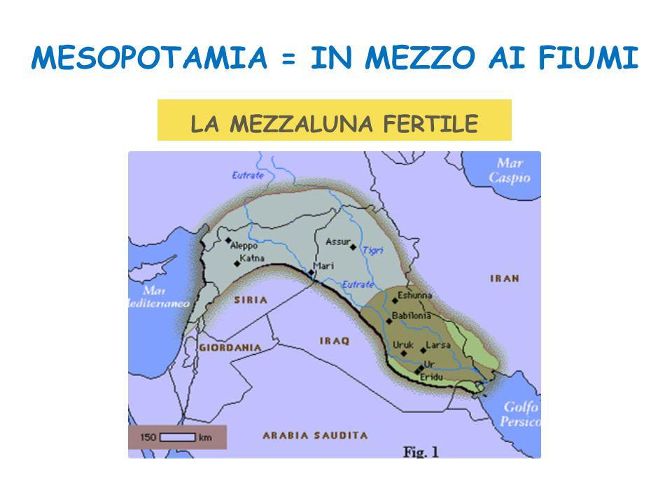 MESOPOTAMIA = IN MEZZO AI FIUMI