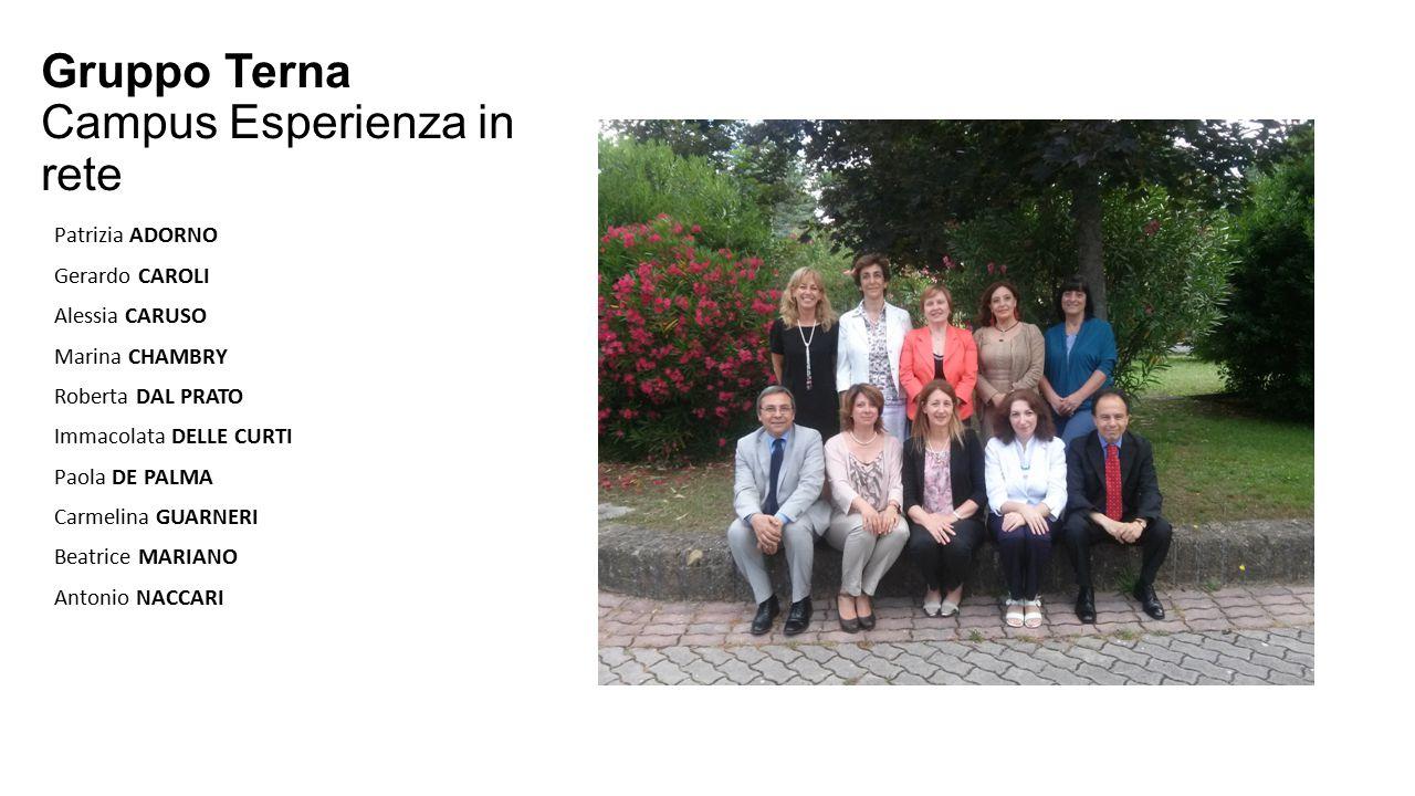 Gruppo Terna Campus Esperienza in rete