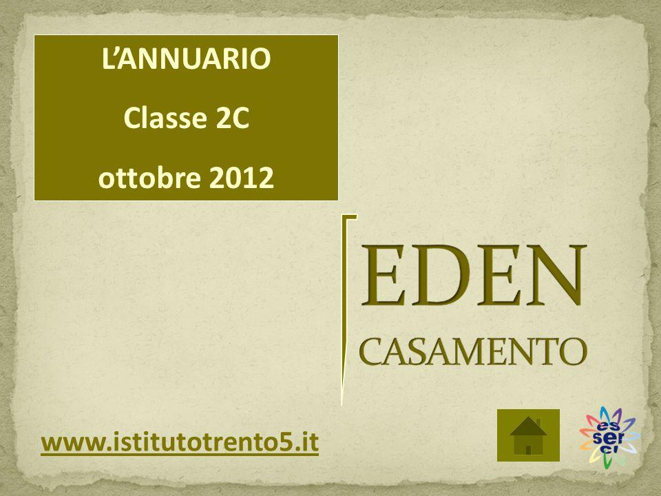 L'ANNUARIO Classe 2C ottobre 2012