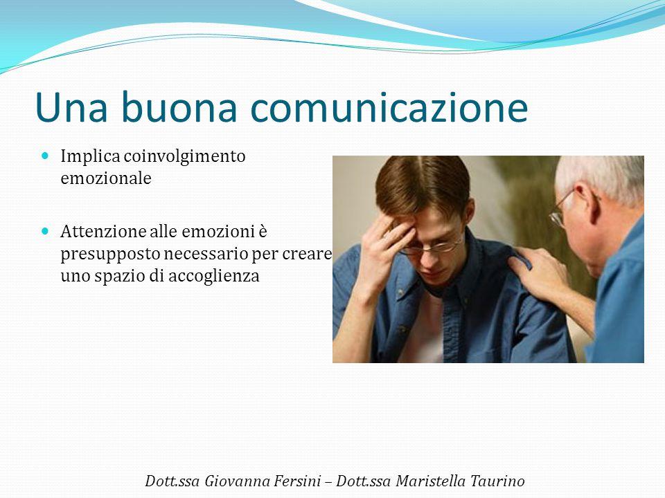 Una buona comunicazione