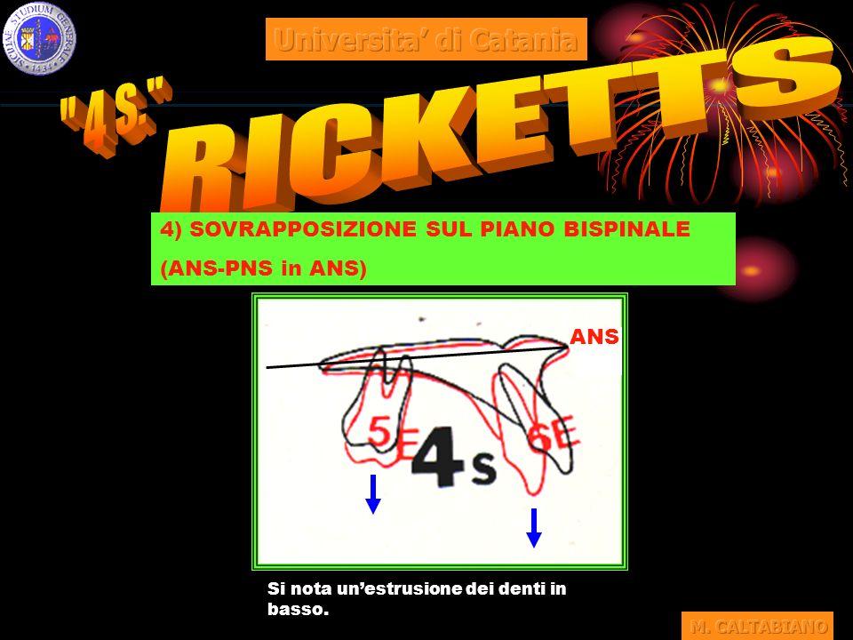 4 S. RICKETTS Universita' di Catania