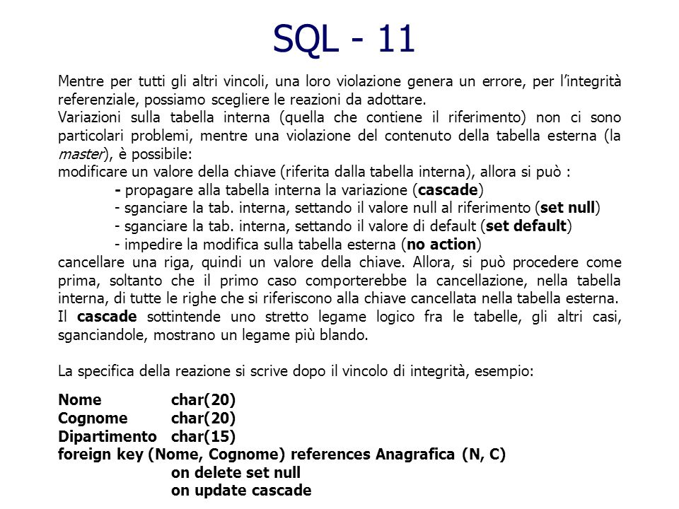SQL - 11