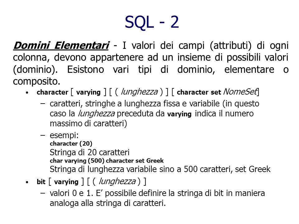 SQL - 2