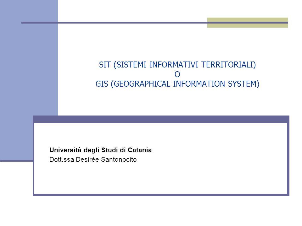 Università degli Studi di Catania Dott.ssa Desirée Santonocito