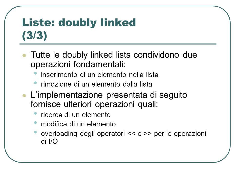 Liste: doubly linked (3/3)