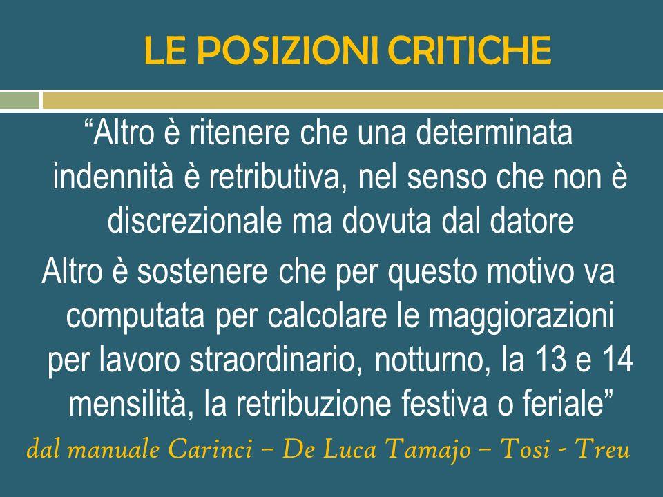 dal manuale Carinci – De Luca Tamajo – Tosi - Treu