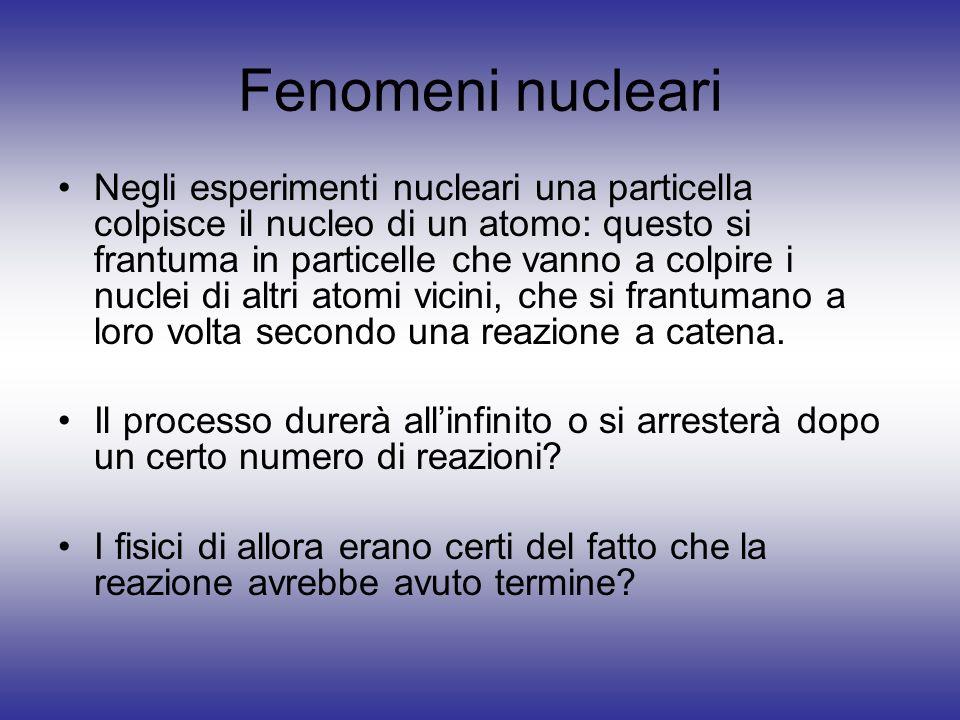 Fenomeni nucleari