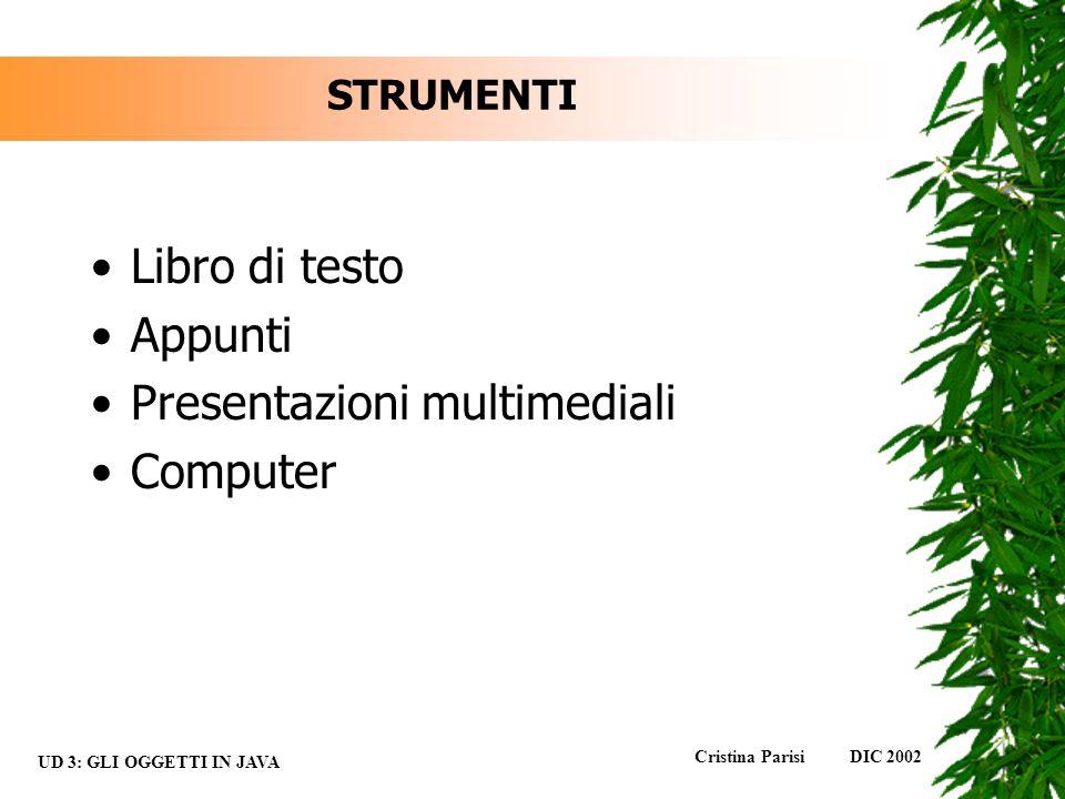 Presentazioni multimediali Computer