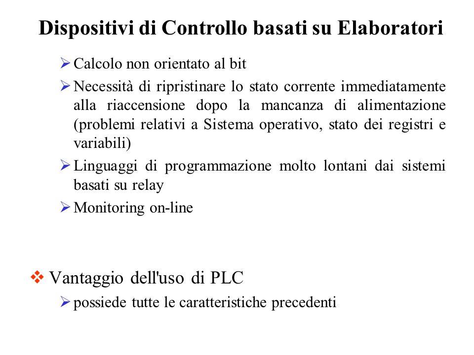 Dispositivi di Controllo basati su Elaboratori