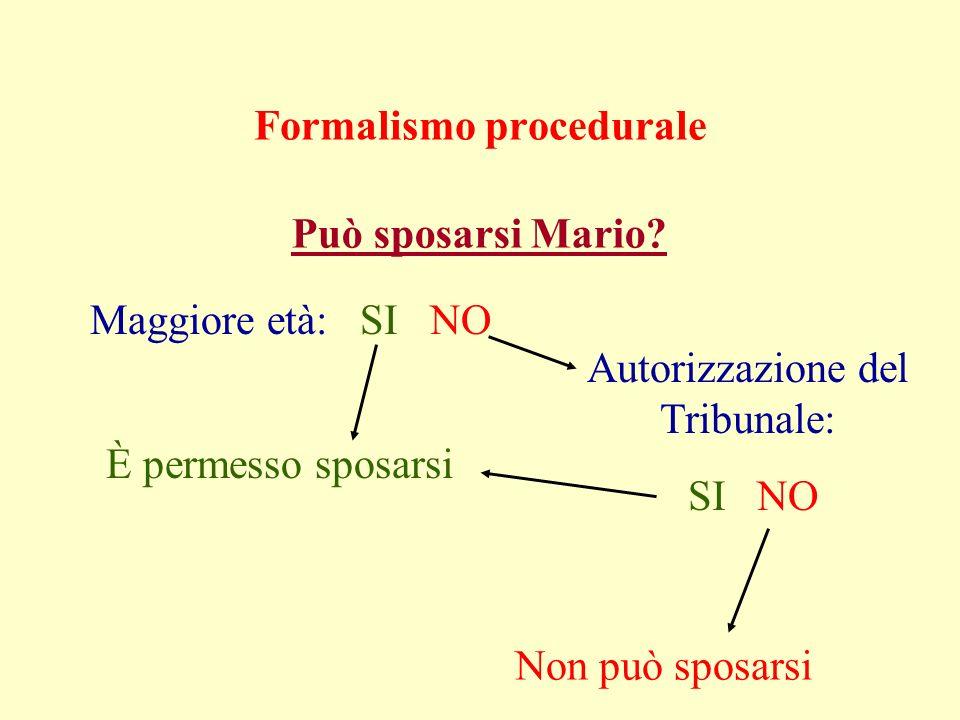 Formalismo procedurale