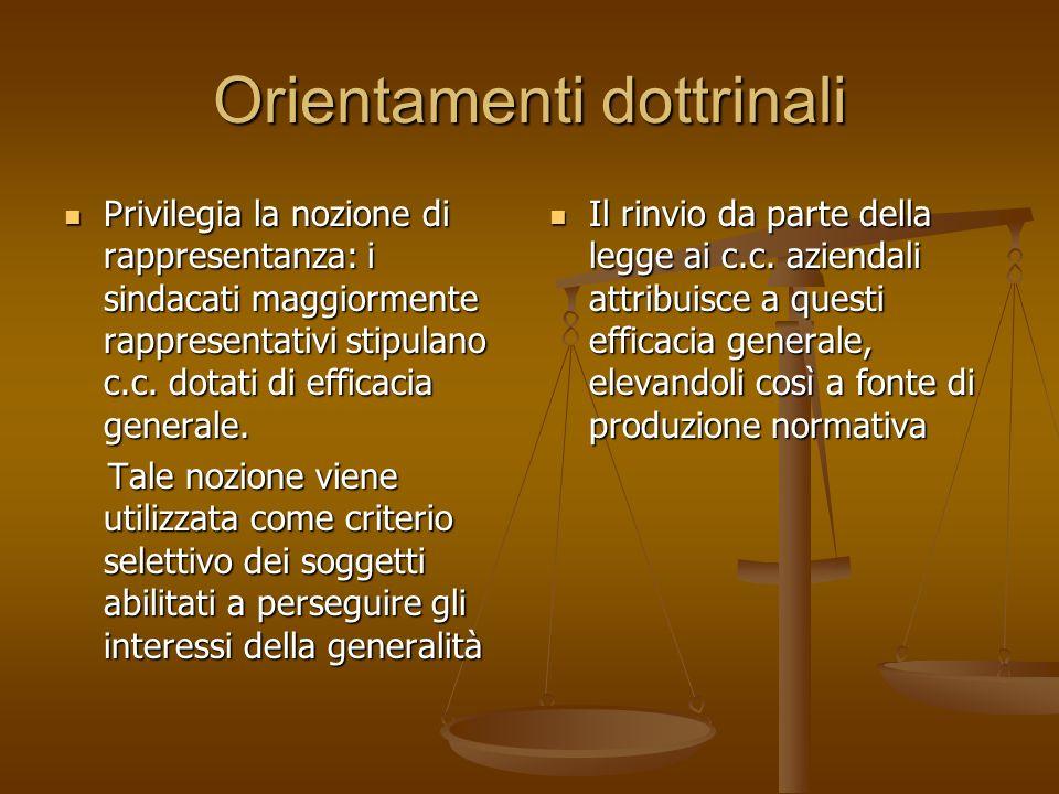 Orientamenti dottrinali