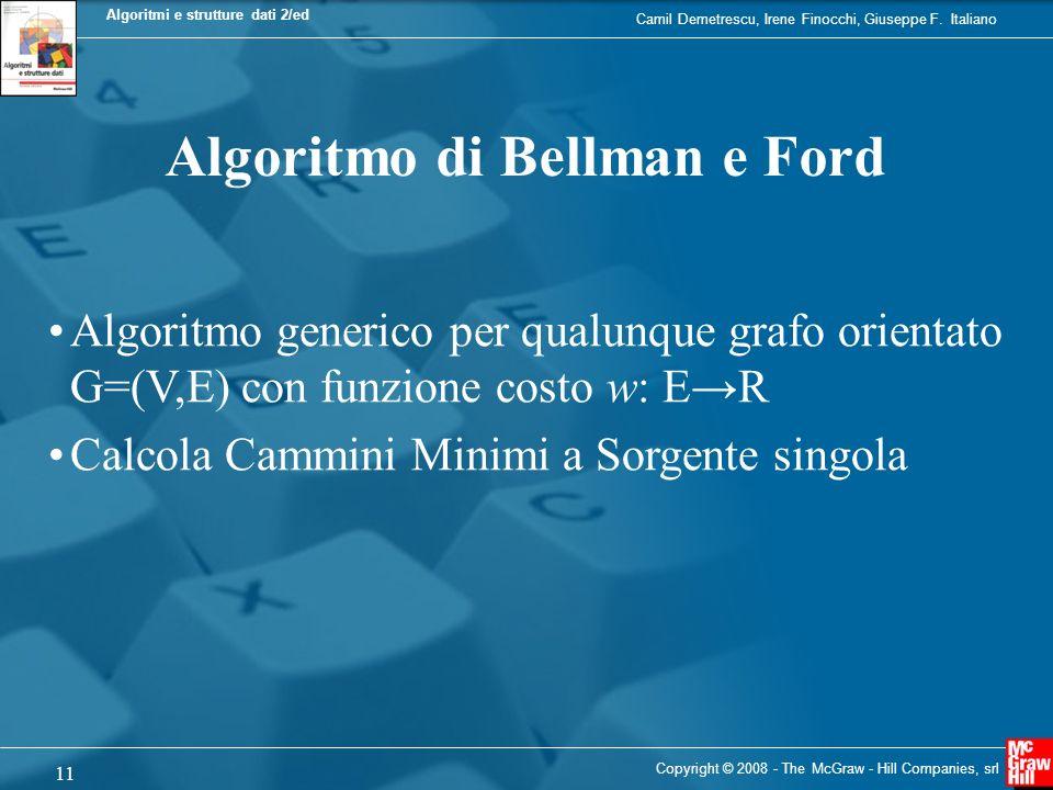 Algoritmo di Bellman e Ford