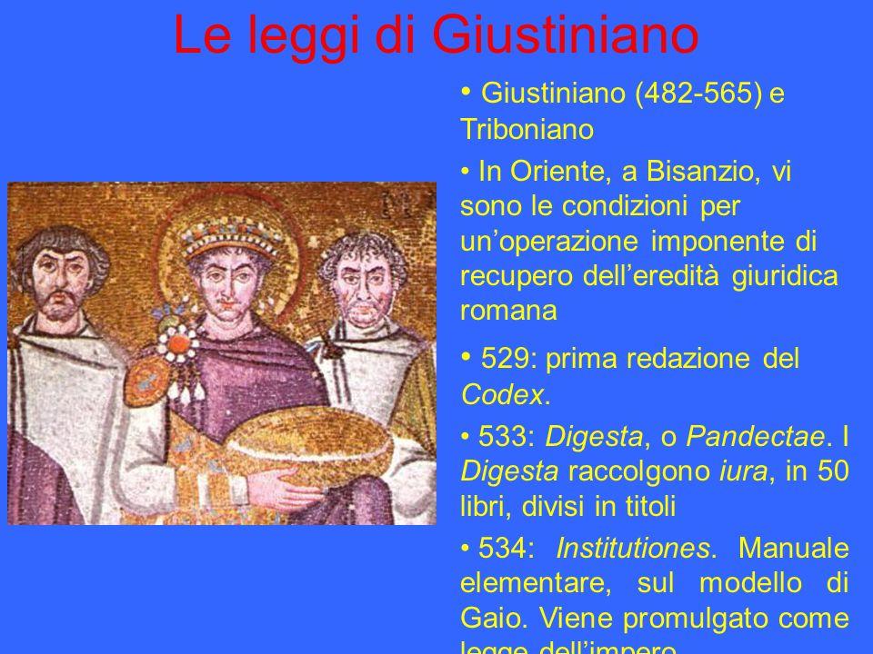 Le leggi di Giustiniano