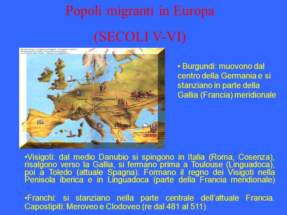 Popoli migranti in Europa