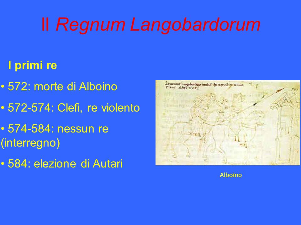 Il Regnum Langobardorum