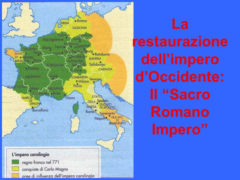 La restaurazione dell'impero d'Occidente: Il Sacro Romano Impero