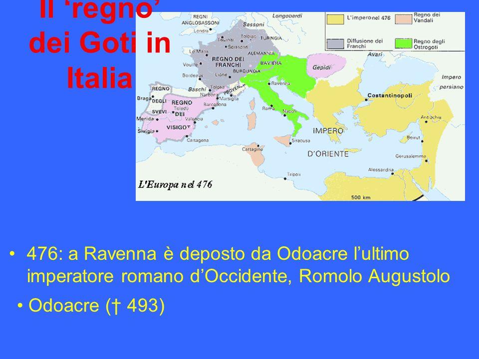 Il 'regno' dei Goti in Italia