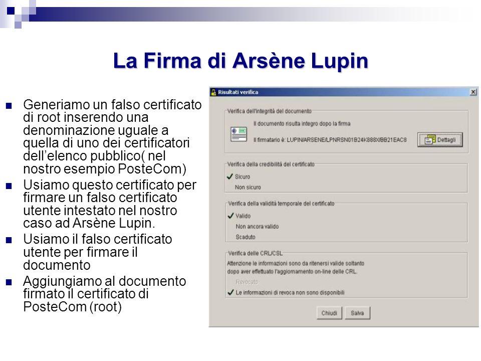 La Firma di Arsène Lupin