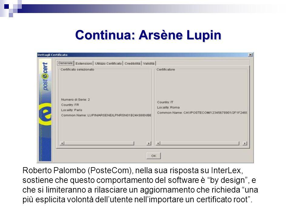 Continua: Arsène Lupin