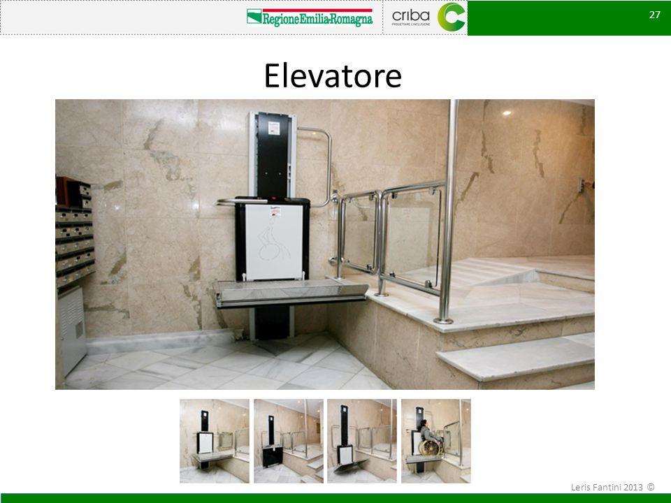 Elevatore Leris Fantini 2013 ©