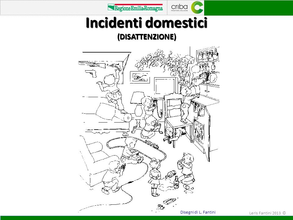 Incidenti domestici (DISATTENZIONE)