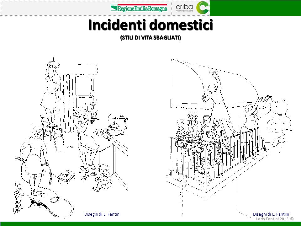 Incidenti domestici (STILI DI VITA SBAGLIATI)