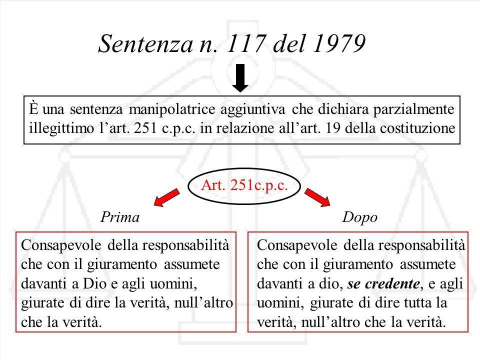 Sentenza n. 117 del 1979