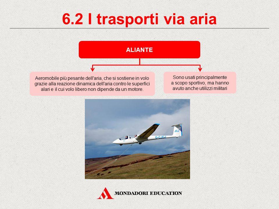 6.2 I trasporti via aria ALIANTE *