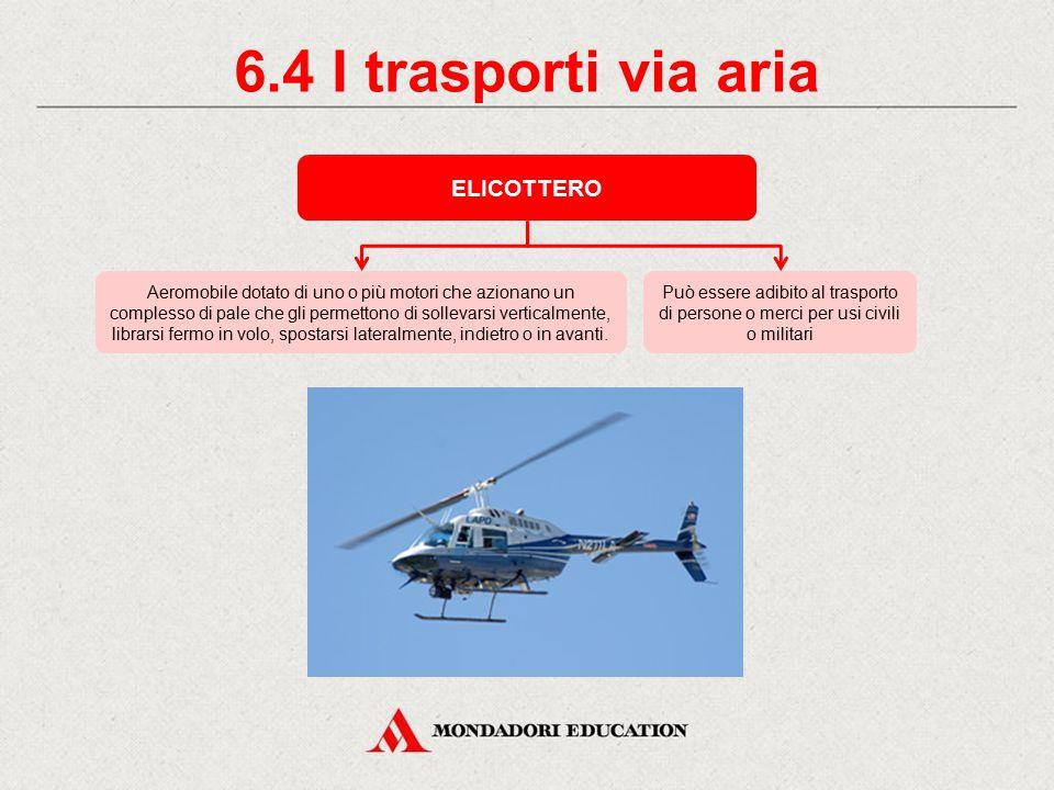 6.4 I trasporti via aria ELICOTTERO *