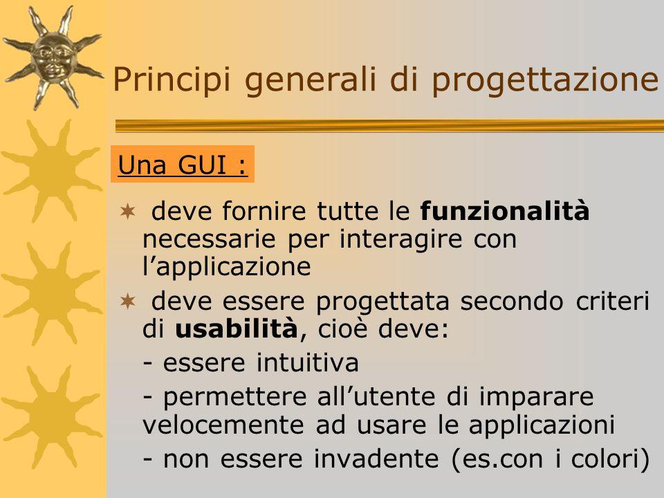 Principi generali di progettazione