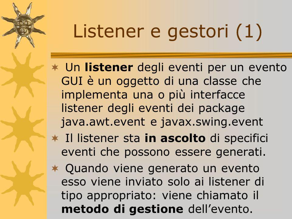 Listener e gestori (1)