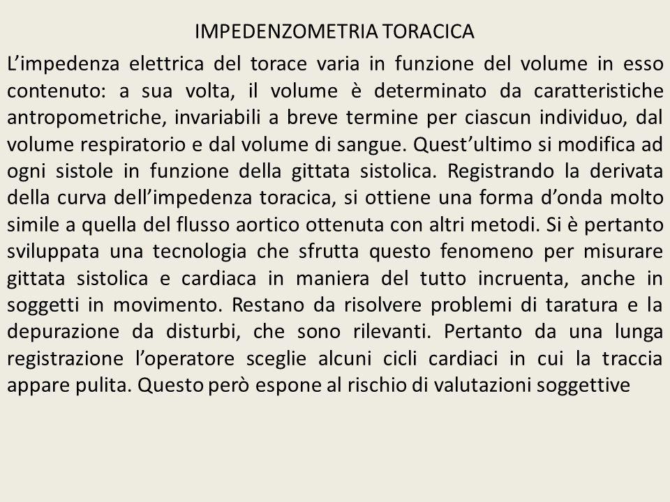 IMPEDENZOMETRIA TORACICA