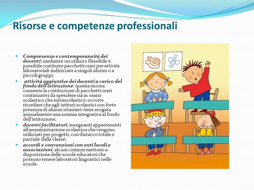 Risorse e competenze professionali