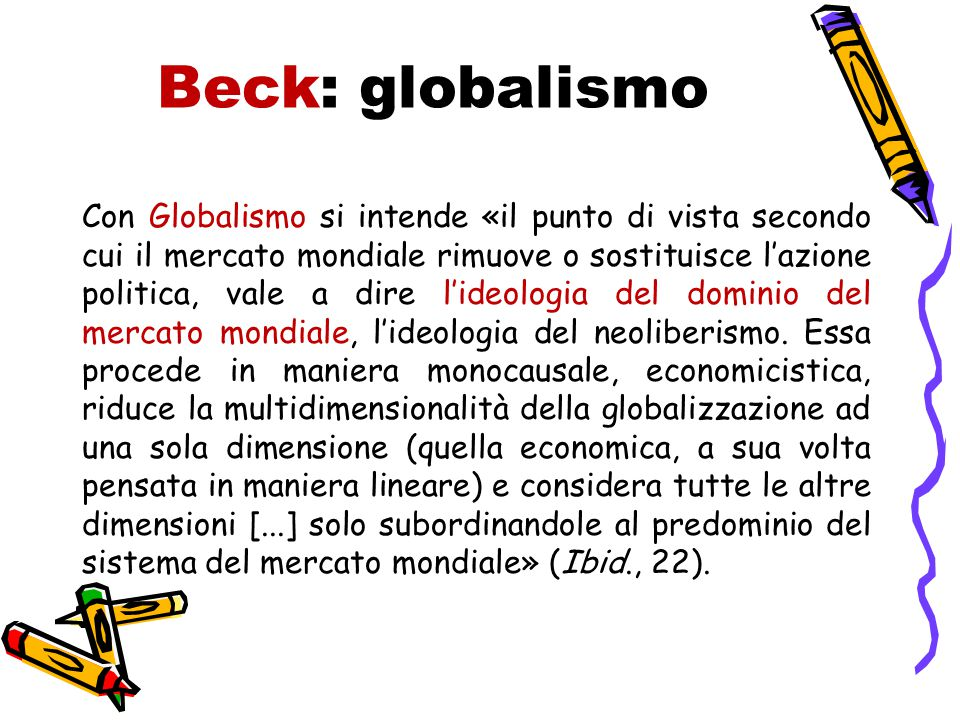 Beck: globalismo