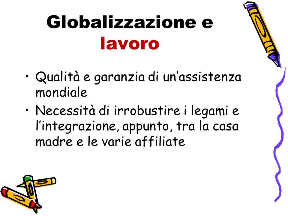 Globalizzazione e lavoro