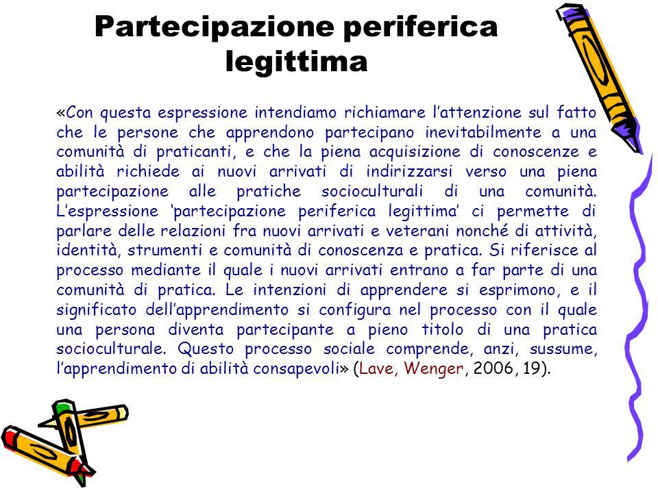 Partecipazione periferica legittima