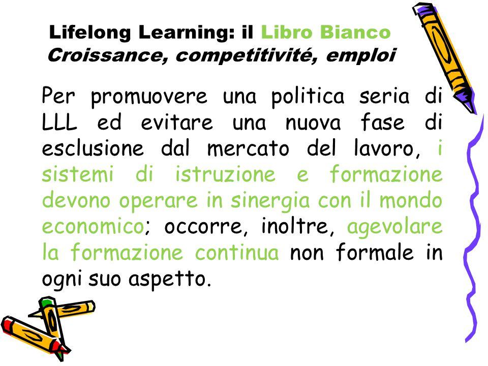 Lifelong Learning: il Libro Bianco Croissance, competitivité, emploi