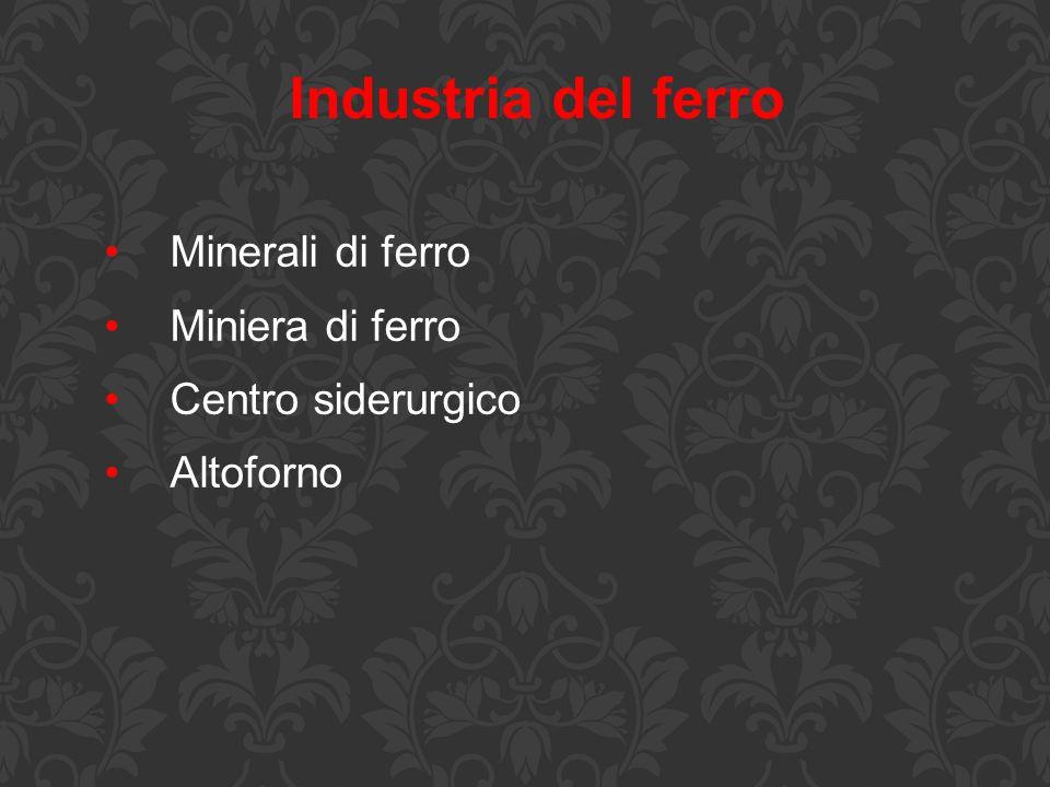 Industria del ferro Minerali di ferro Miniera di ferro