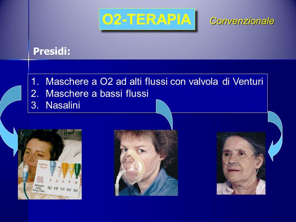 O2-TERAPIA Convenzionale Presidi:
