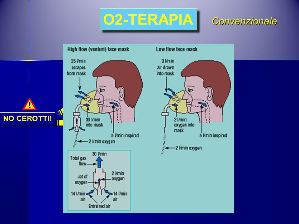 O2-TERAPIA Convenzionale NO CEROTTI!