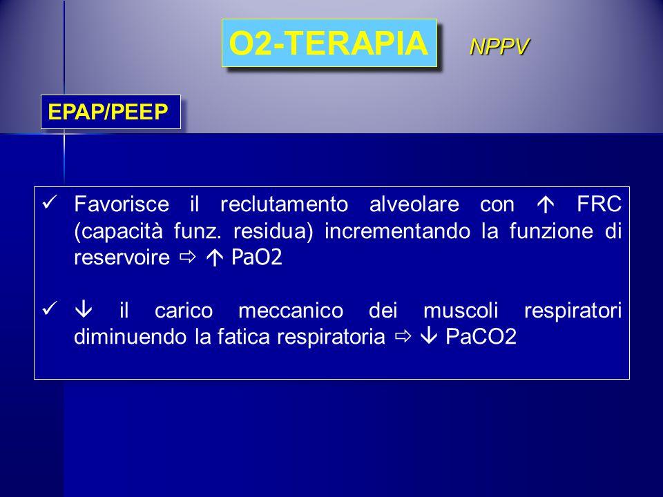 O2-TERAPIA NPPV EPAP/PEEP