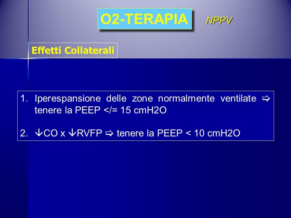 O2-TERAPIA NPPV Effetti Collaterali