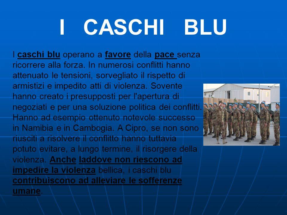 I CASCHI BLU