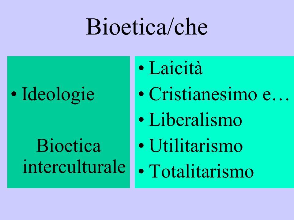 Bioetica interculturale