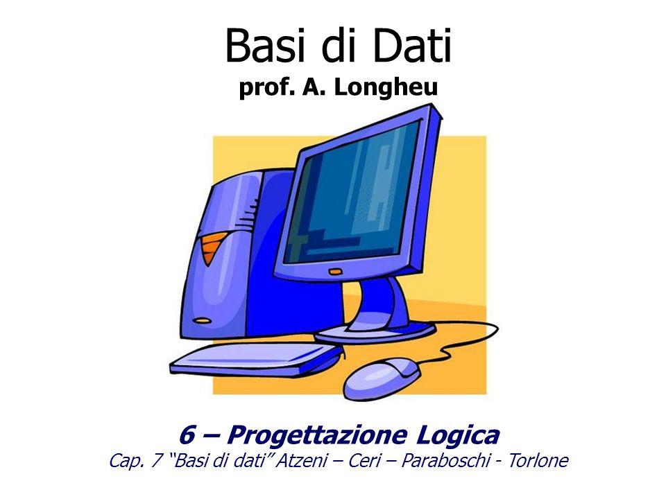 6 – Progettazione Logica