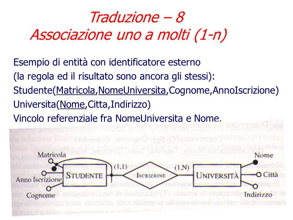 Traduzione – 8 Associazione uno a molti (1-n)