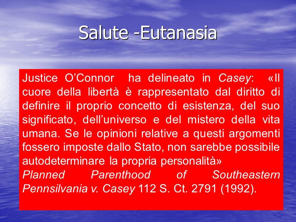 Salute -Eutanasia