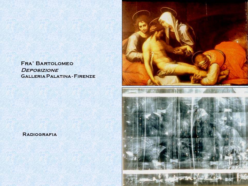 Fra' Bartolomeo Deposizione Galleria Palatina - Firenze